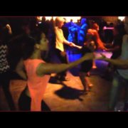 Эмили и Стефан Сальса Танцы @ Гинза, Гонолулу, Гавайи, 2015-1-8