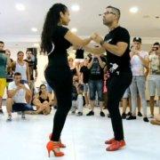 Эль Тигуере и Джулианна [Bachata Dominicana] @ Lions Bachatea 2015