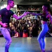 Андреа и Сильвия [Me Rehuso] @ Dancin Bachata Fusion 2017