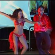 "Eddie Torres & "" Daughter Nadia Torres at N Y  Salsa Congress 2004"
