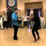 Эдди Торрес и Гризель Понсе Социальные танцы 2010