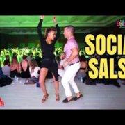 NUR ÖZKAN & OLIVER PINEDA (Социальная танцевальная сальса)