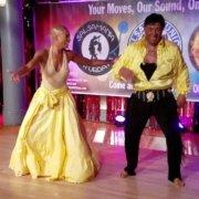 Eddie torres and Maisha Morris Salsamania