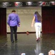 Эдди Торрес и Гризель Понсе Footwork @ on2 Сальса Конгресс 2012