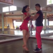 Сальса On1 - Промежуточные паттерны от Agung & Nia