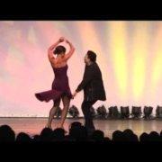 Eddie Torres and Desiree Godsell at the 2008 Salsafestival Switzerland at Zurich