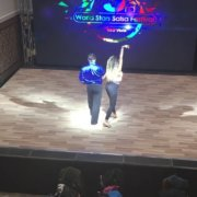 Король Мамбо Эдди Торрес и репетиция Берси Кортез - 3-й WSSF Варна