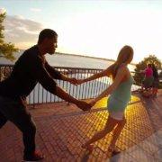 Танец сальсы в Нью-Йорке