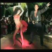 EDDIE TORRES & NADIA TORRES AT THE SICILY SALSA FESTIVAL 2004
