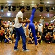 Рональд и Альба [Bachata Estilos Unidos] @ Dancin Italia 2015