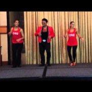 Эдди Торрес - NY Salsa Congress 2013 - Семинар Pachanga - Джеймс Браун