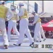 EDDIE TORRES DANCERS AT SOUTH SEAPORT NYC 2000