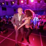 Адольфо Индакочеа и Амнерис Мартинес - социальные танцы @ MAMBOLAND MILANO
