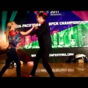 Социальный танец на Гонконгском фестивале сальсы 2011: Вито и Стефания