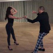 SHANI TALMOR & BETO ROJAS SALSA DANCE AT SOHO DANCE LA 2019