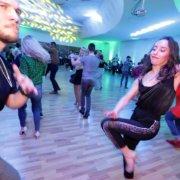 Дмитрий Самонов и Ирина Назаренко - Социальные танцы | Сальса Фестиваль наркоманов 2019