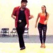 Eddie Torres and Shani Talmor Cha Cha Cha Footwork (Part II) - 2013 Chim Pum Callao, Niagara Falls