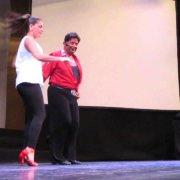 Eddie Torres & Shani Talmor pasos libres música flamenco 2 Benidorm 11-07-2014