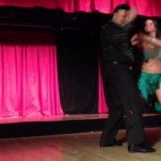 Король мамбо Эдди Торрес и Шани Талмор - День Благодарения 2012 - Club Cache, Нью-Йорк - Часть 1