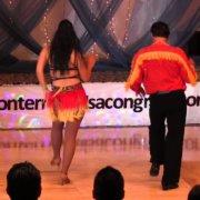 Эдди Торрес и Киара 2 на Международном конгрессе Монтеррея сальса и бачата 2014