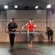 Эдди Торрес и Ноэлия Айала (Бугалу) - Уругвайский конгресс по сальсе 2017