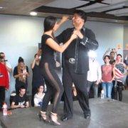 EDDIE TORRES Y SHANI TALMOR TALLER FIGURA en el FESTIVAL I CON SENTIMIENTO DE MADRID 06 12 2013