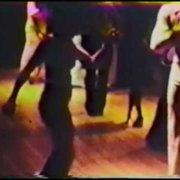 EDDIE TORRES & JUNE LABERTA DANCING AT A SOCIAL 1973