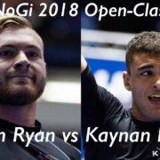 Гордон Райан - Кайнан Дуарте / Pan NoGi Championship 2018