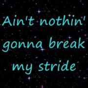 Тексты песен Matthew Wilder Break My Stride